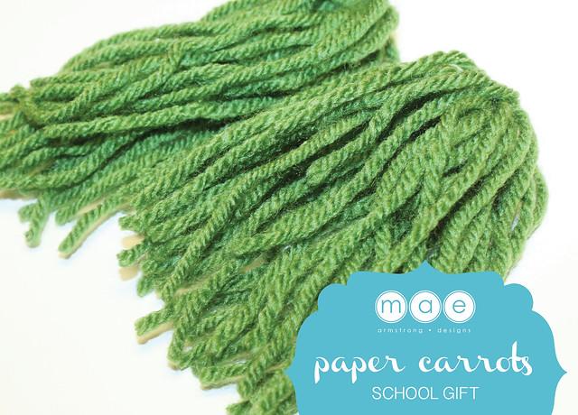 Paper Carrots - School Gift3