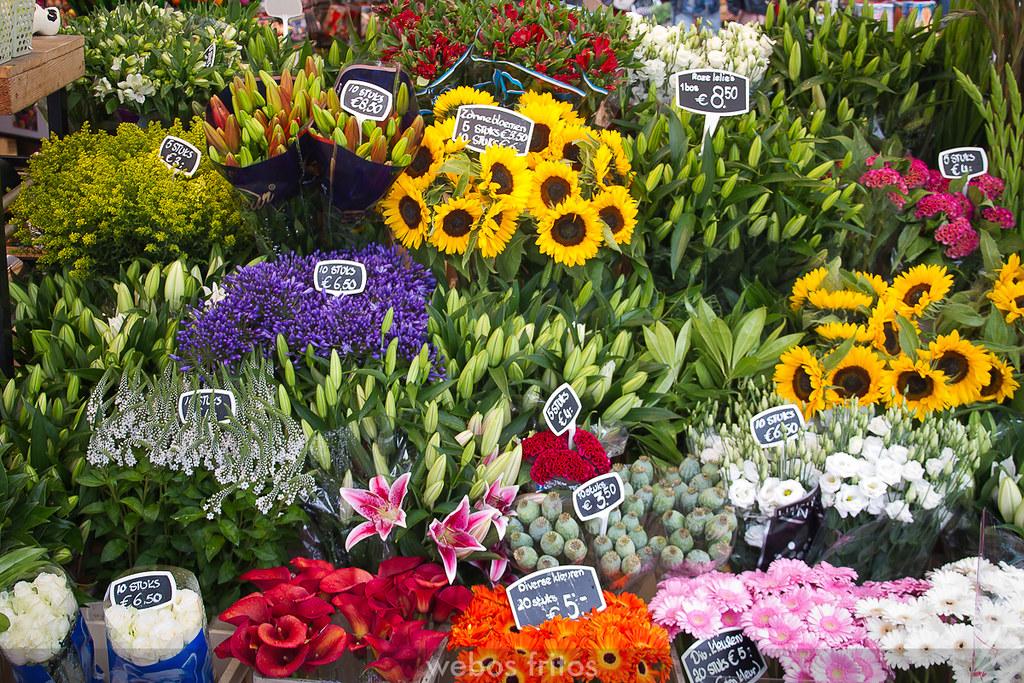 Mercado de flores de Ámsterdam
