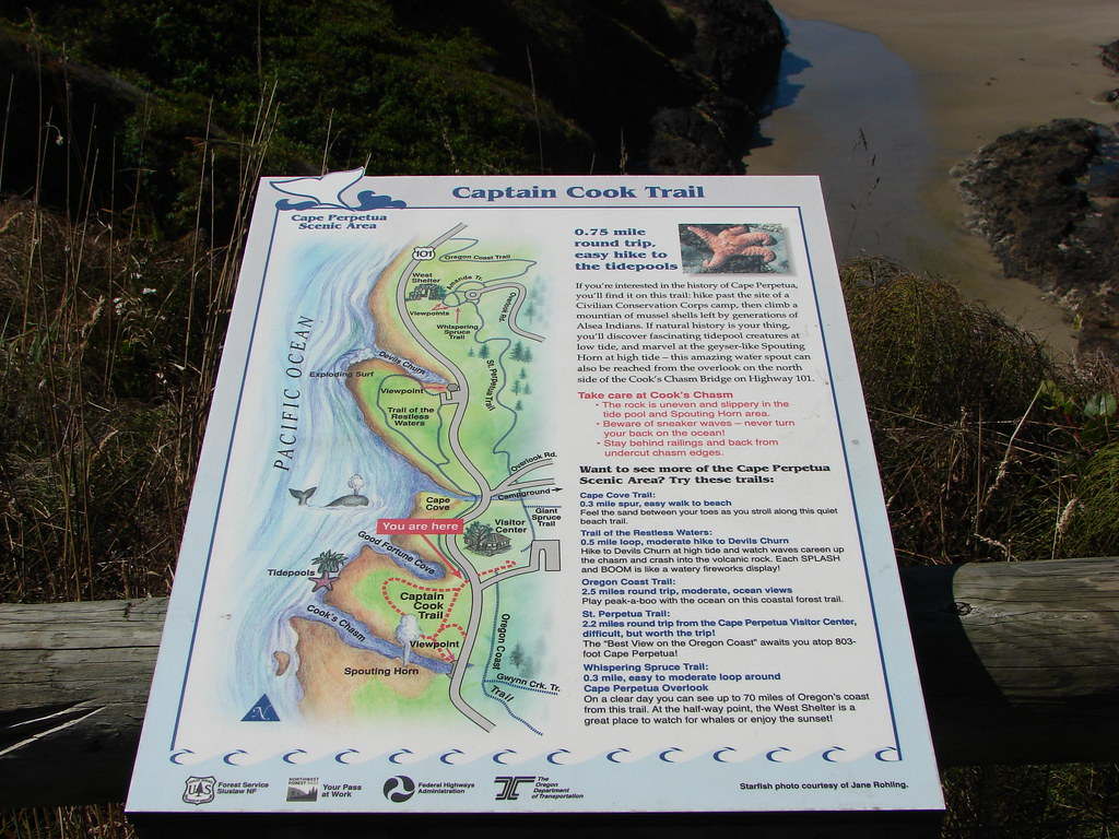 Infromation for the Captain Cook Trail