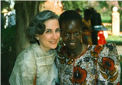 Jacqueline and Former Student Judith