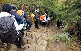 Recorrido del Camino Inca