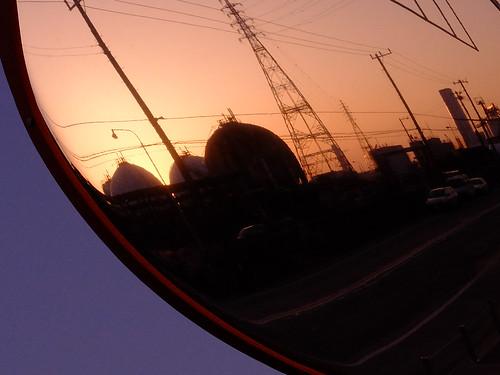 Kawasaki Factory dusk scene 01
