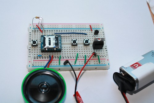 MP3 mode circuit