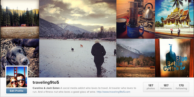 Traveling9to5 Instagram