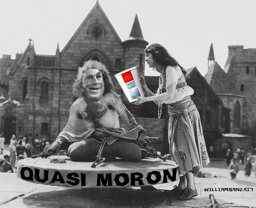 QUASI MORON by Colonel Flick/WilliamBanzai7