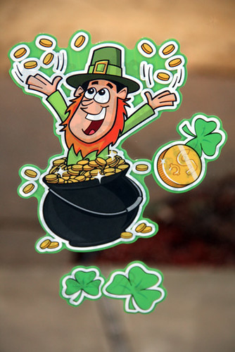 Door-Stickers_Cute-Leprechaun