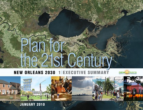 master plan for New Orleans (courtesy of Goody Clancy Planning)