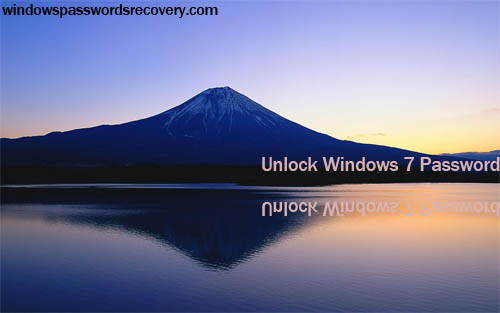 forgot Win7 login password