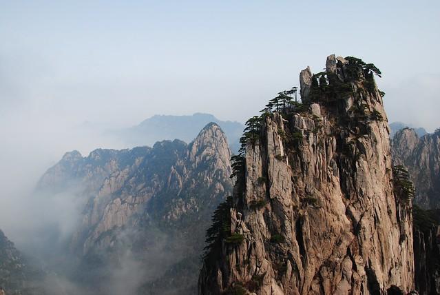 黃山山水畫 Mount Huangshan