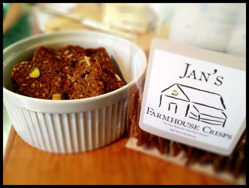 Jan's Farmhouse Crisps from Gourmet Shop.