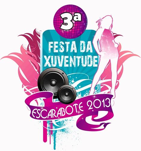 Boiro 2013 - III Festa da Xuventude de Escarabote - cartel presentación