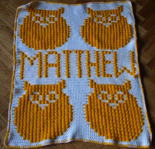 Owl Afghan for Matthew