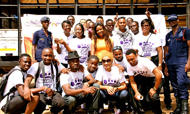 Juliet Ibrahim Foundation Divas Car wash (10)