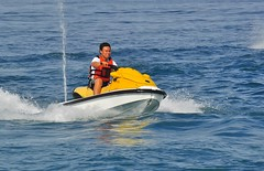 f1 powerboat racing(0.0), motorsport(0.0), boating(0.0), motorboat(0.0), inflatable boat(0.0), vehicle(1.0), sports(1.0), sea(1.0), recreation(1.0), outdoor recreation(1.0), water sport(1.0), jet ski(1.0), personal water craft(1.0), watercraft(1.0), boat(1.0),