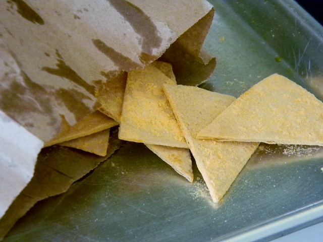 Homemade Jalapeno Doritos