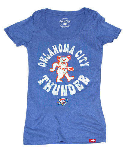 Women's Oklahoma City Thunder Grateful Dead Shirt