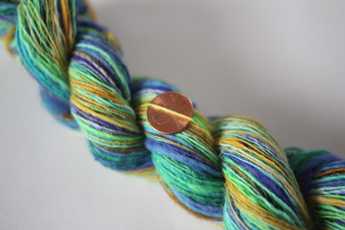 Eye of the Peacock - Handspun