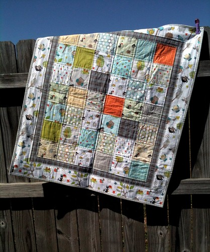 Baby Quilt Finishes