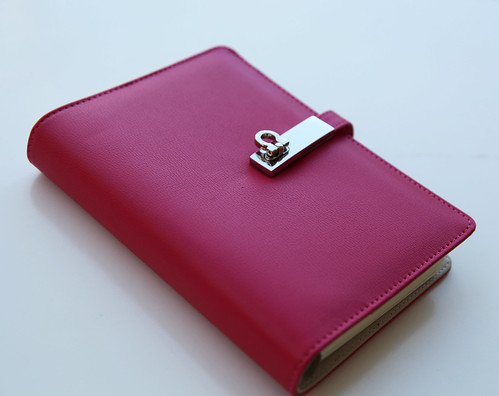 Leather Loose leaf Notebook Agenda Personal Diary Schedule Book Hardback   eBay