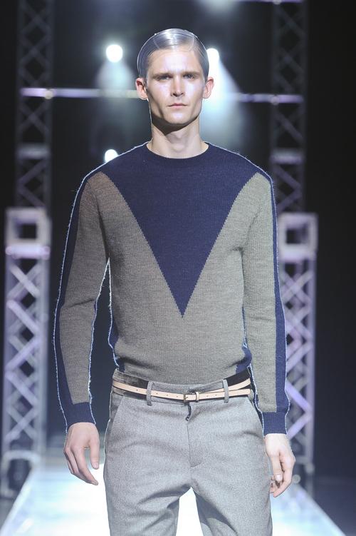 FW13 Tokyo yoshio kubo019_Lowell Tautchin(Fashion Press)