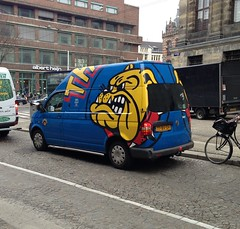 the bulldog coffee shop van
