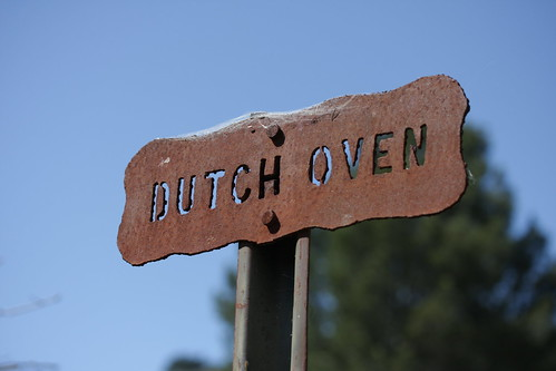 Dutch Oven Sign