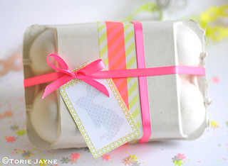 Pretty Easter egg box