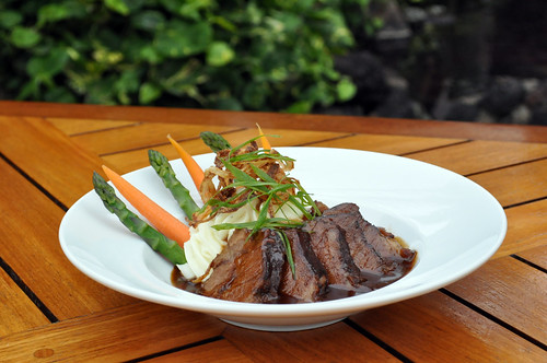Braised Boneless Beef Short Ribs, Photo Courtesy of Sheraton Maui