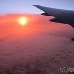 Sunrise Landing in Auckland, New Zealand