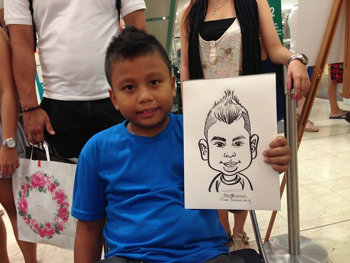 caricature live sketching for Takashimaya Good Friday Special - 32
