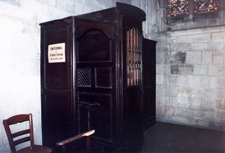 Cathédrale Saint-Pierre de Lisieux - Confessional of St. Therese of Lisieux