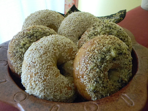 Sesame Bagels and Parmesan Black Pepper Bagels 3