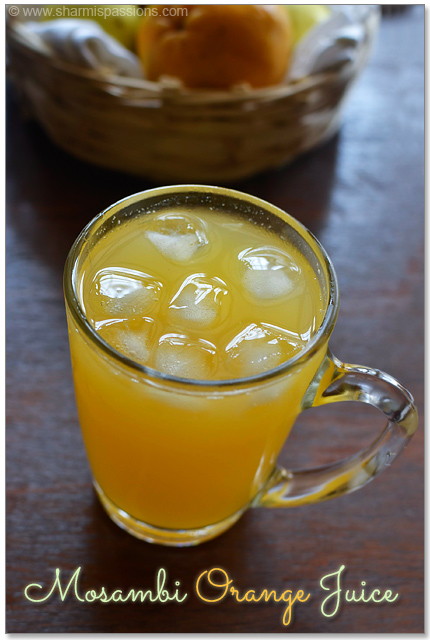 Mosambi Orange Juice Recipe