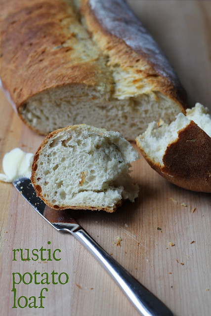 rustic potato loaf