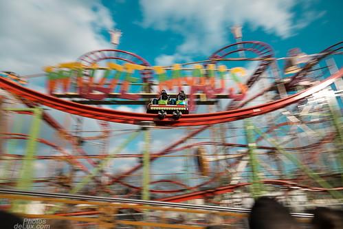 Rollercoaster panning - Fujinon XF 14mm f2.8 - Fuji X-Pro 1