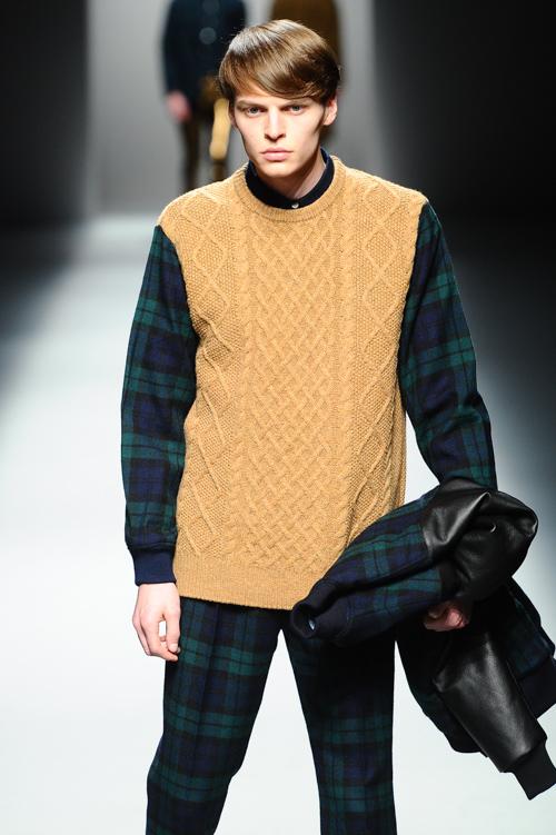 John Hein3084_FW13 Tokyo MR.GENTLEMAN(Fashion Press)