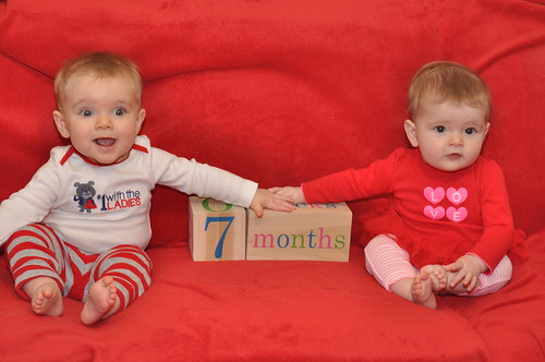 7 months: official photo