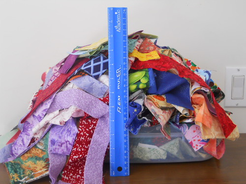 quilting fabric strings