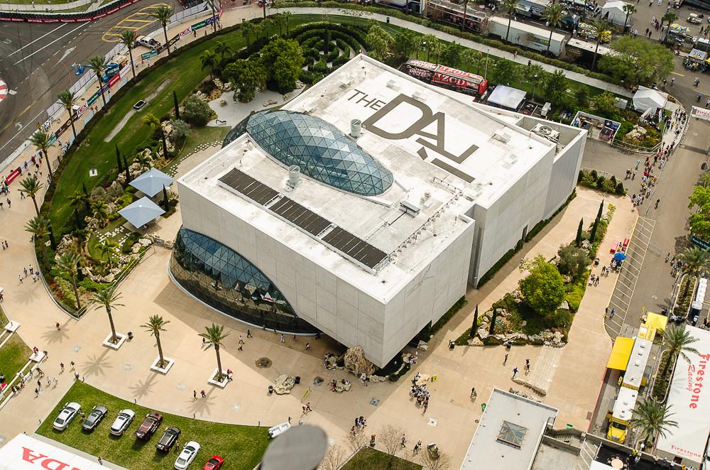 Dali Museum Aerial