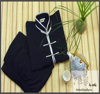 Tencel and Hemp Blend Fabric Tai Chi clothing/Meditation Suit