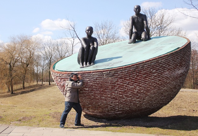 Westerpark sculpture
