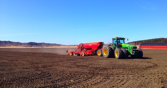 Spring tillage in Halland Sweden