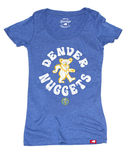 Womens Denver Nuggets Grateful Dead Shirt