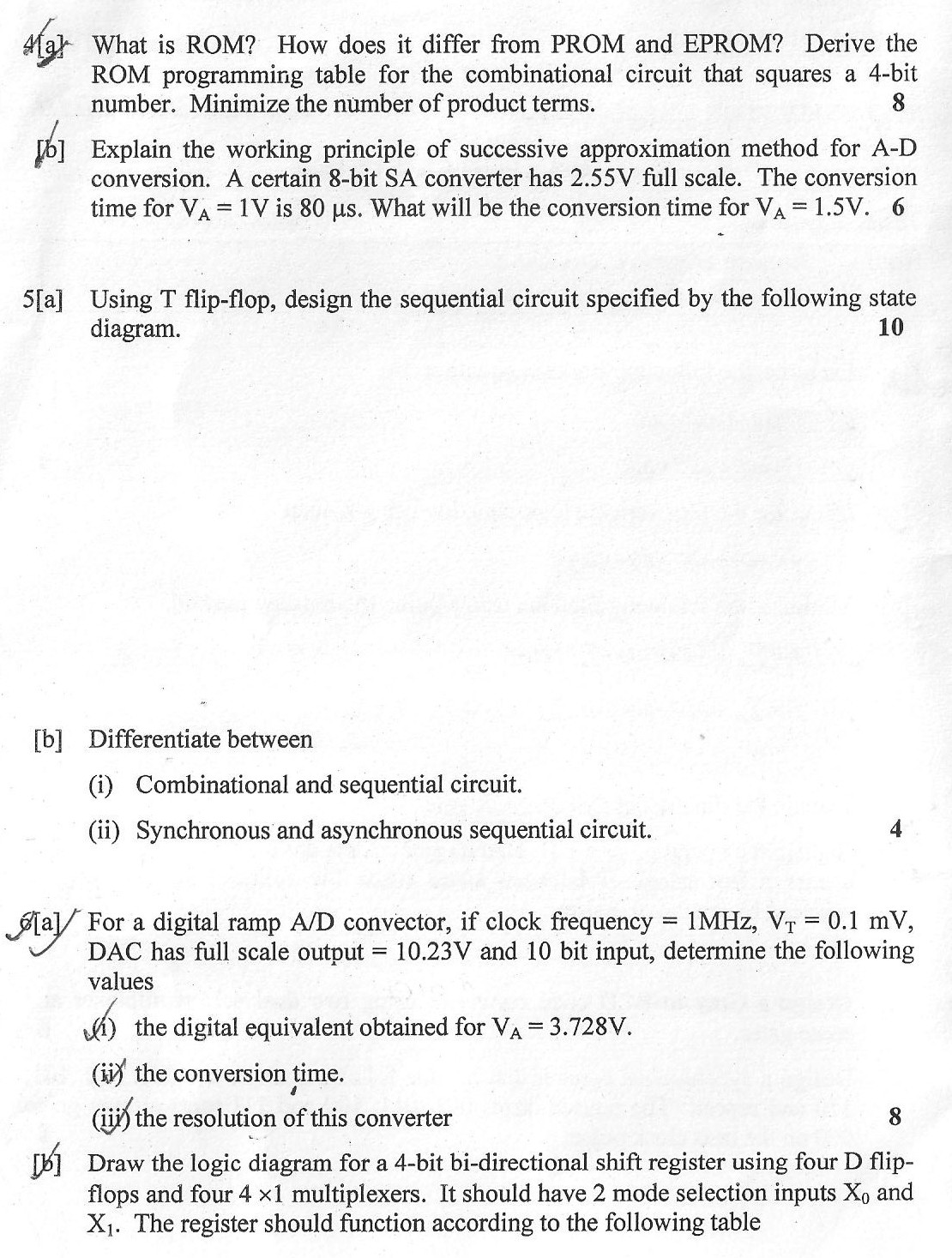 DTU Question Papers 2010 – 3 Semester - End Sem - SW-204