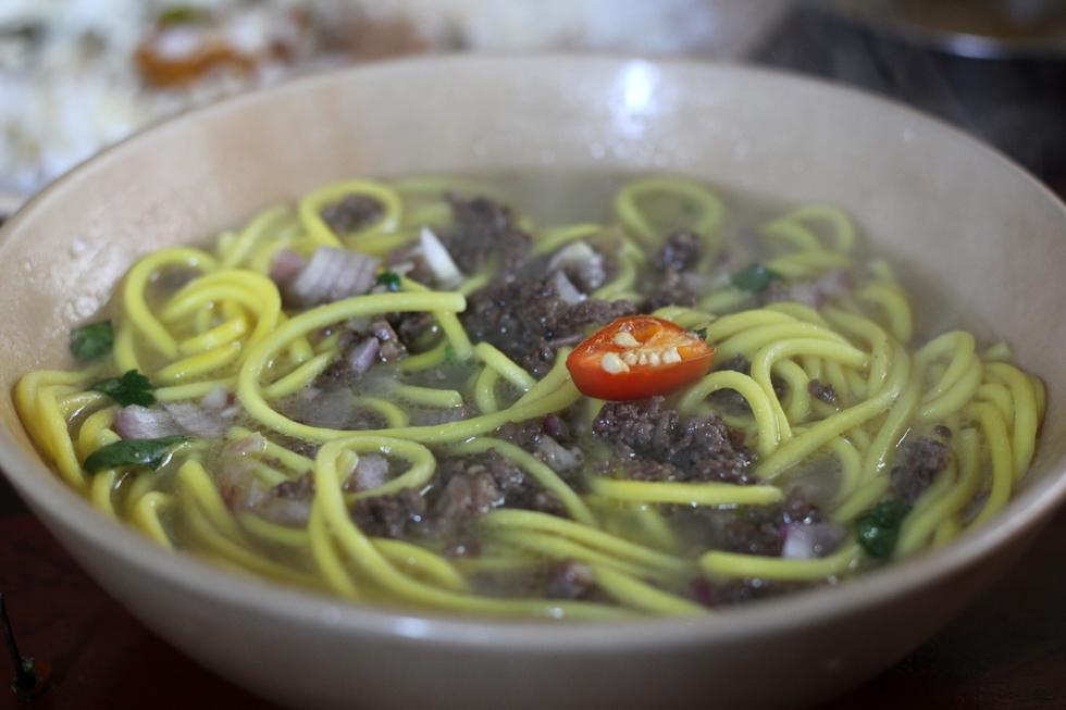 Thukpa noodle soup