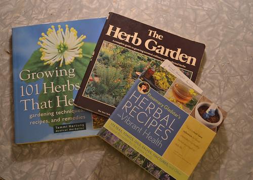 medicinal herb books