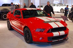 stock car racing(0.0), classic car(0.0), automobile(1.0), automotive exterior(1.0), wheel(1.0), vehicle(1.0), performance car(1.0), automotive design(1.0), rim(1.0), auto show(1.0), shelby mustang(1.0), bumper(1.0), land vehicle(1.0), muscle car(1.0), motor vehicle(1.0),