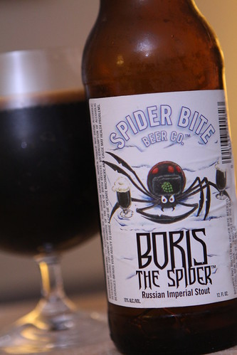 Spider Bite Beer Co. Boris the Spider