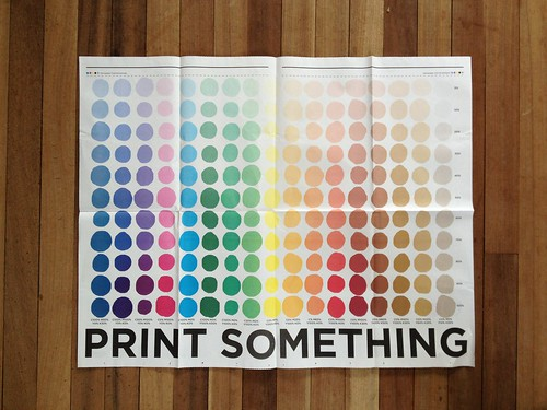 PRINT SOMETHING