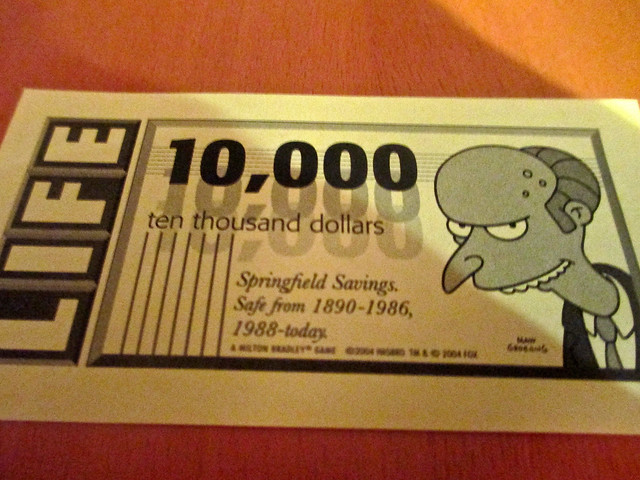 Mr. Burns Dollar